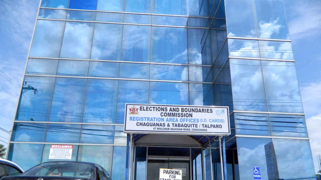 Elections and Boundaries Office, Chaguanas. Photo via the Elections and Boundaries Commission