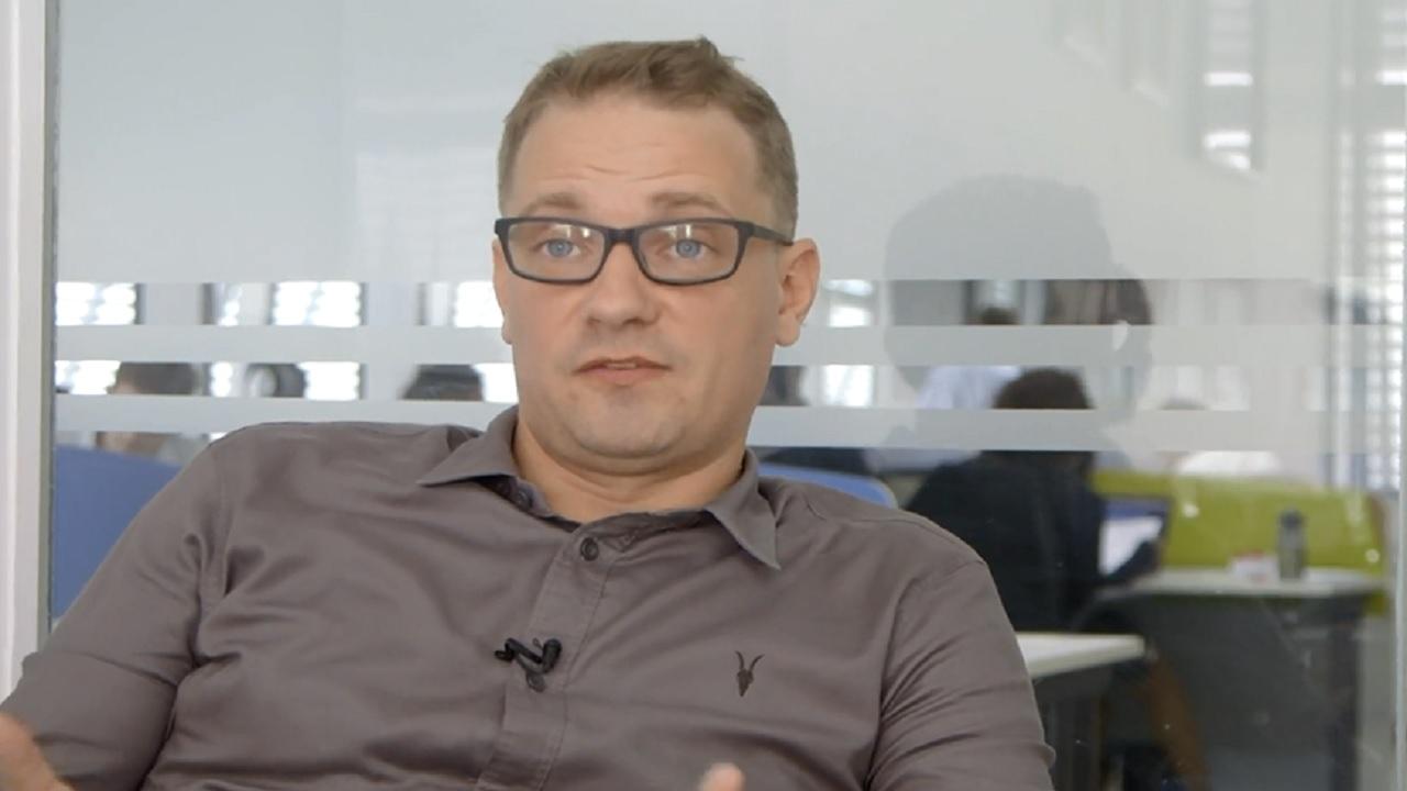 Knightfox's CEO Egbert von Frankenberg