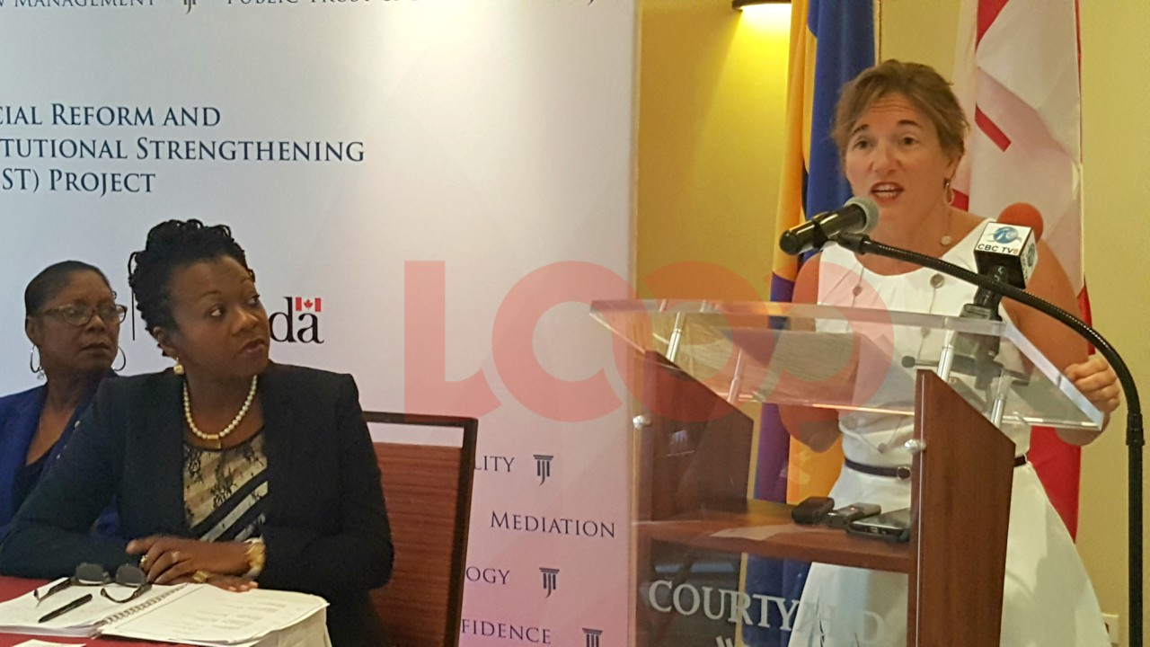 High Commissioner of Canada to Barbados and the Eastern Caribbean, Her Excellency Marie Legault says work needs to be done in Barbados.