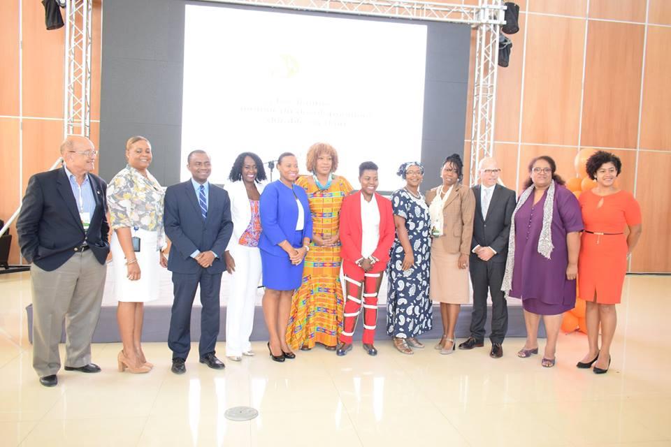 Les membres de la CCFEH et les partenaires du FEFHA.