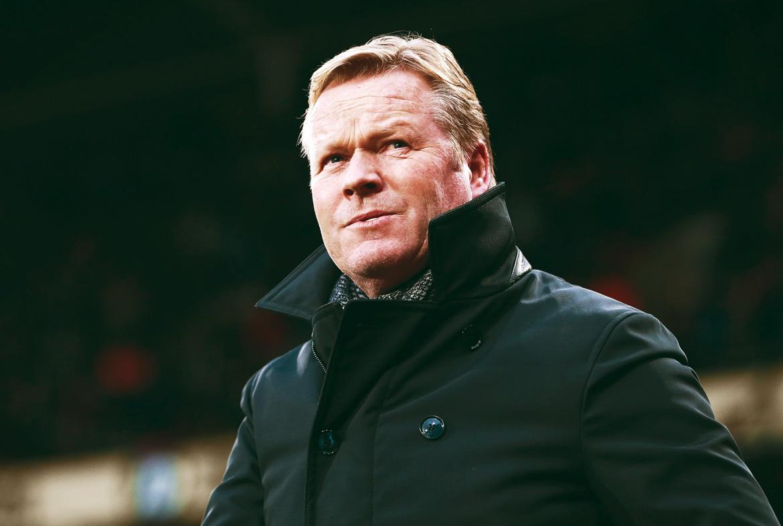 Koeman is ontslagen bij de Engelse Everton en is nu de voornaamste kandidaat voor de rol van bondscoach van Oranje, nadat Dick Advocaat zal vertrekken.