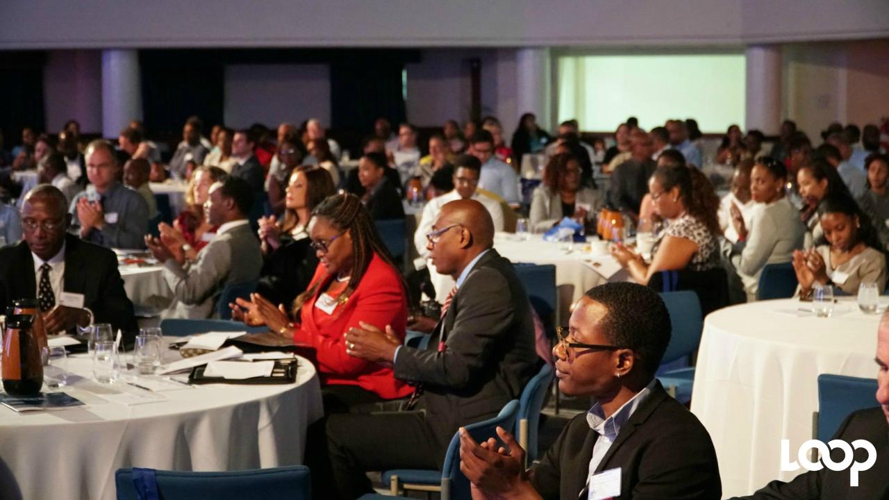 Participants at the Barbados International Business Association (BIBA) conference. (Photo: Richard Grimes)