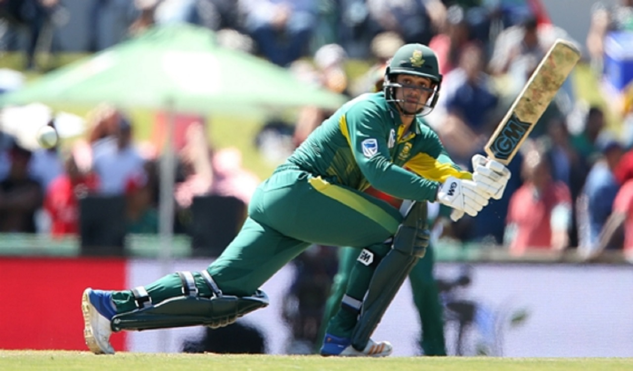 South Africa wicketkeeper-batsman Quinton de Kock.