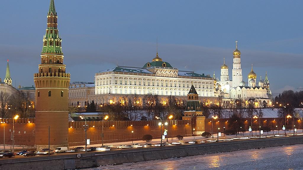 Het Kremlin in Moskou, Rusland.