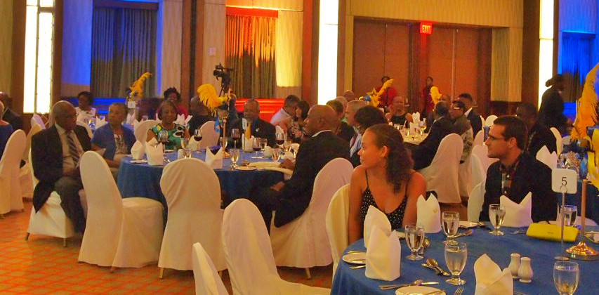 Attendees at the Rotary Club of Barbados Workmanship Awards.