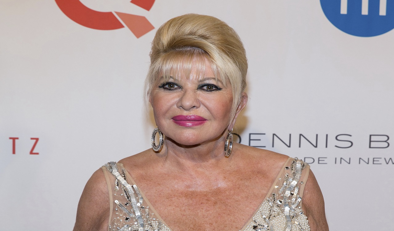 In this May 9, 2016 file photo, Ivana Trump, ex-wife of President Donald Trump, attends the Fashion Institute of Technology Annual Gala benefit in New York.