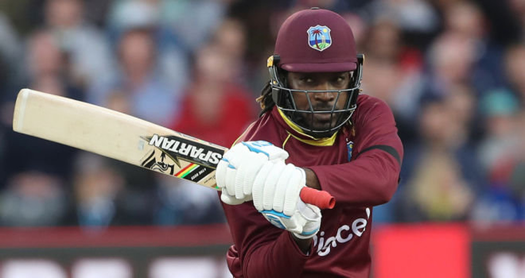 Chris Gayle batted superbly for his 94 from 78 balls.