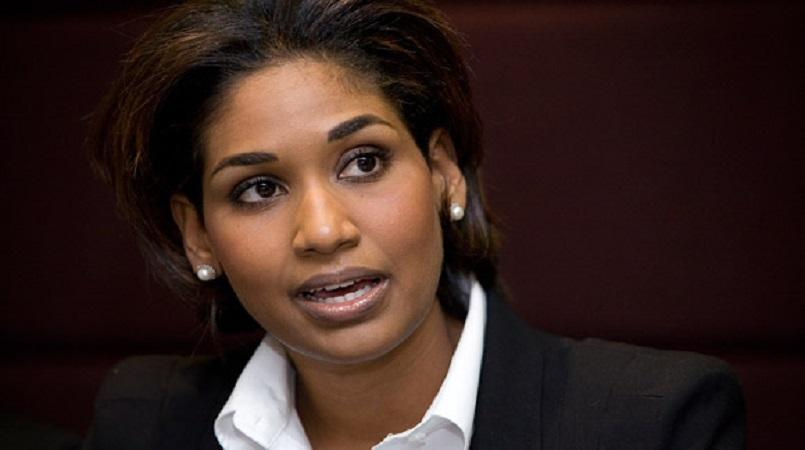 Jamaica's Opposition Spokespersonon Foreign Affairs and Foreign Trade, Lisa Hanna.