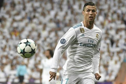 AFP/Archives / GABRIEL BOUYS La star du Real Madrid, Cristiano Ronaldo, lors du match contre Tottenham, le 17 octobre 2017 à Madrid