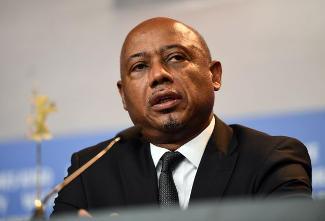 Le cinéaste Raoul Peck. Credit photo: France Inter.