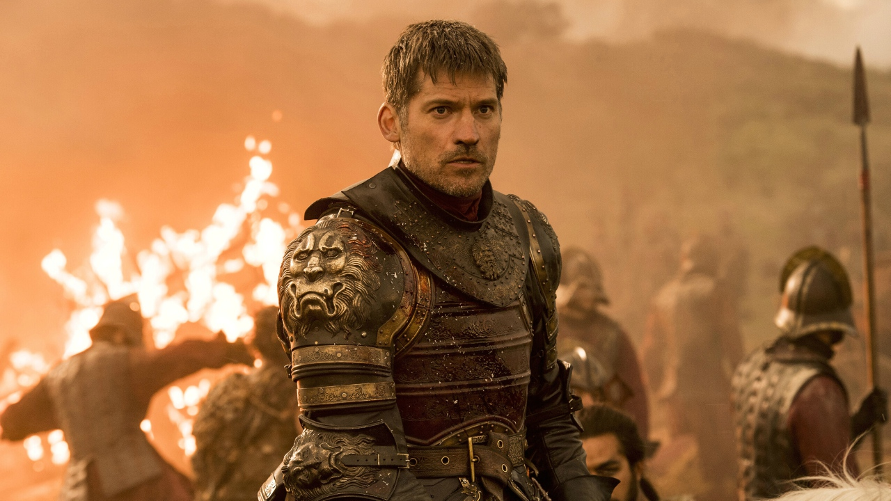 "FILE - This file image released by HBO shows Nikolaj Coster-Waldau as Jaime Lannister in an episode of ""Game of Thrones."""