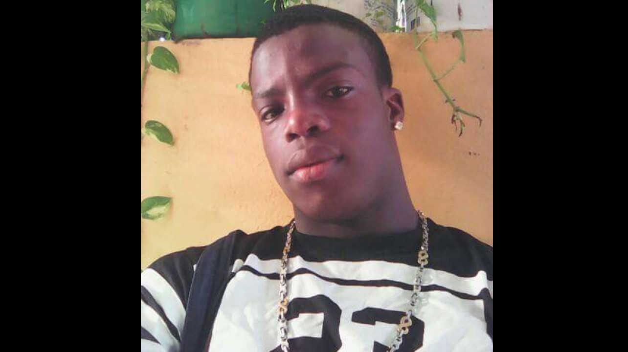 Oshane Marshall, 24, died in a motorcycle crash on Sunday.