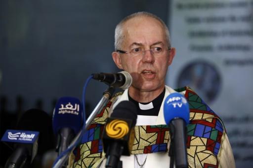 AFP/Archives / ASHRAF SHAZLY L'archevêque de Canterbury Justin Welby, le 30 juillet 2017 à Khartoum, au Soudan