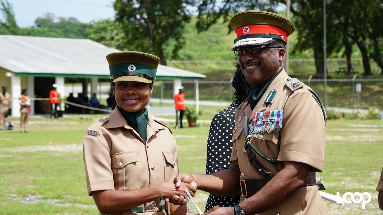 Barbados Prison Service 10th anniversary parade and awards. (PHOTO: Richard Grimes)