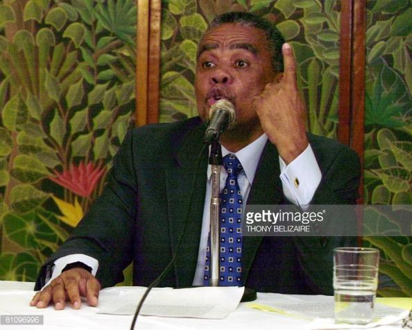 Ericq Pierre, représentant du gouvernement haïtien à la BID. Photo : Getty Images