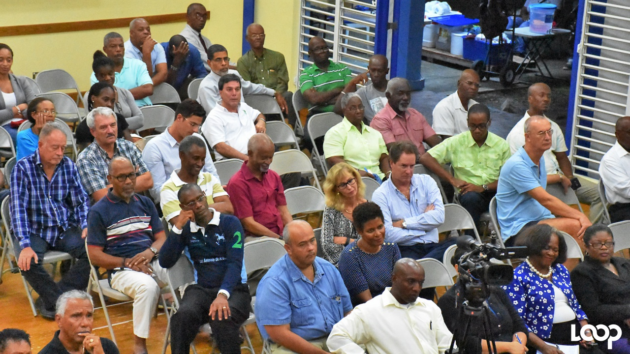 "Attendees at the Integrity Group Barbados panel discussion on the topic: ""Corruption: Cost, consequences and remedies""."