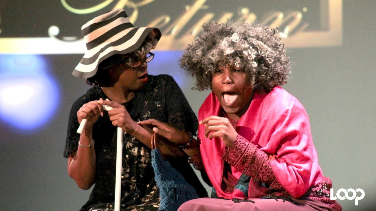 Carla Springer-Hunte and Toni-Ann Johnson had the audience in stitches with their vintage Laff-It-Off skit.
