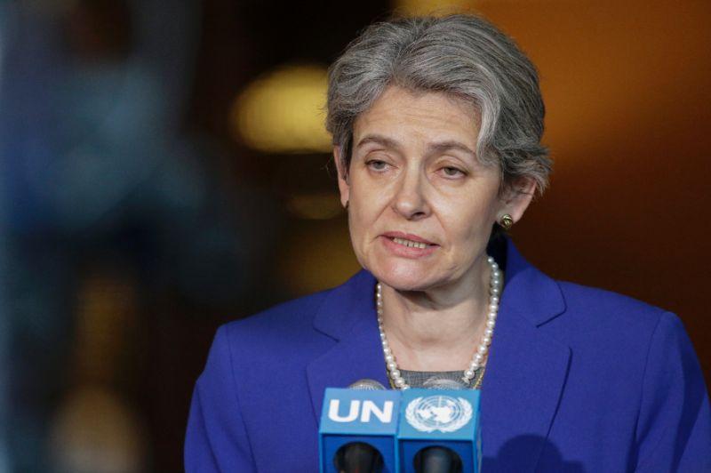 La directrice générale de l'Unesco Irina Bokova. Photo: AFP Photo/Kena Betancur