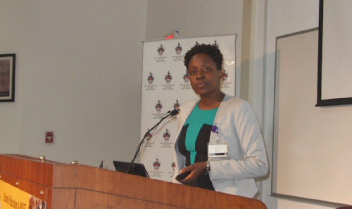 Dr. Verna Knight, Senior Lecturer at the UWI, School of Education.