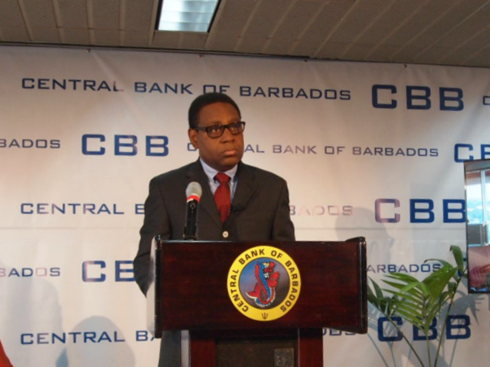 Acting Governor of the Central Bank, Cleviston Haynes.