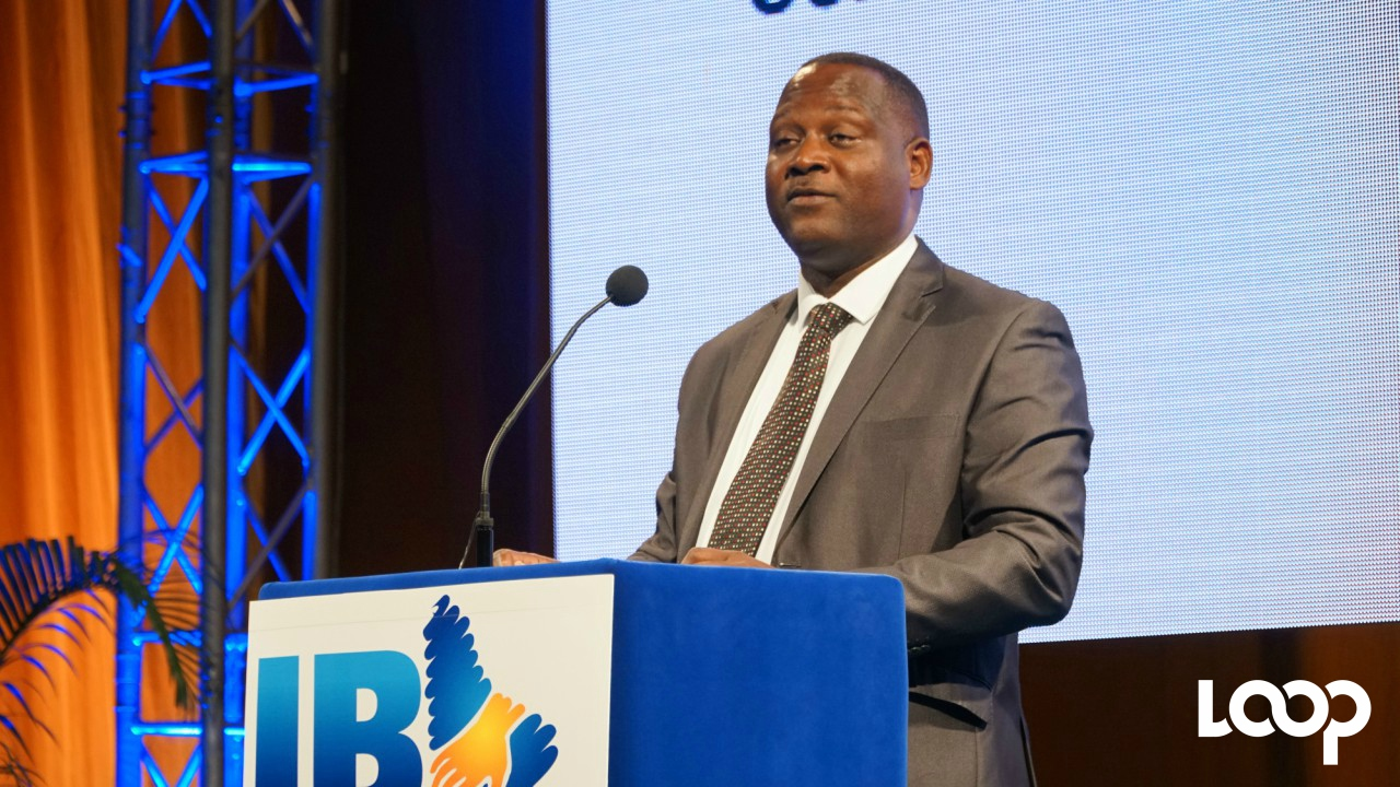 Minister of International Business, Donville Inniss.  (PHOTO: Richard Grimes)