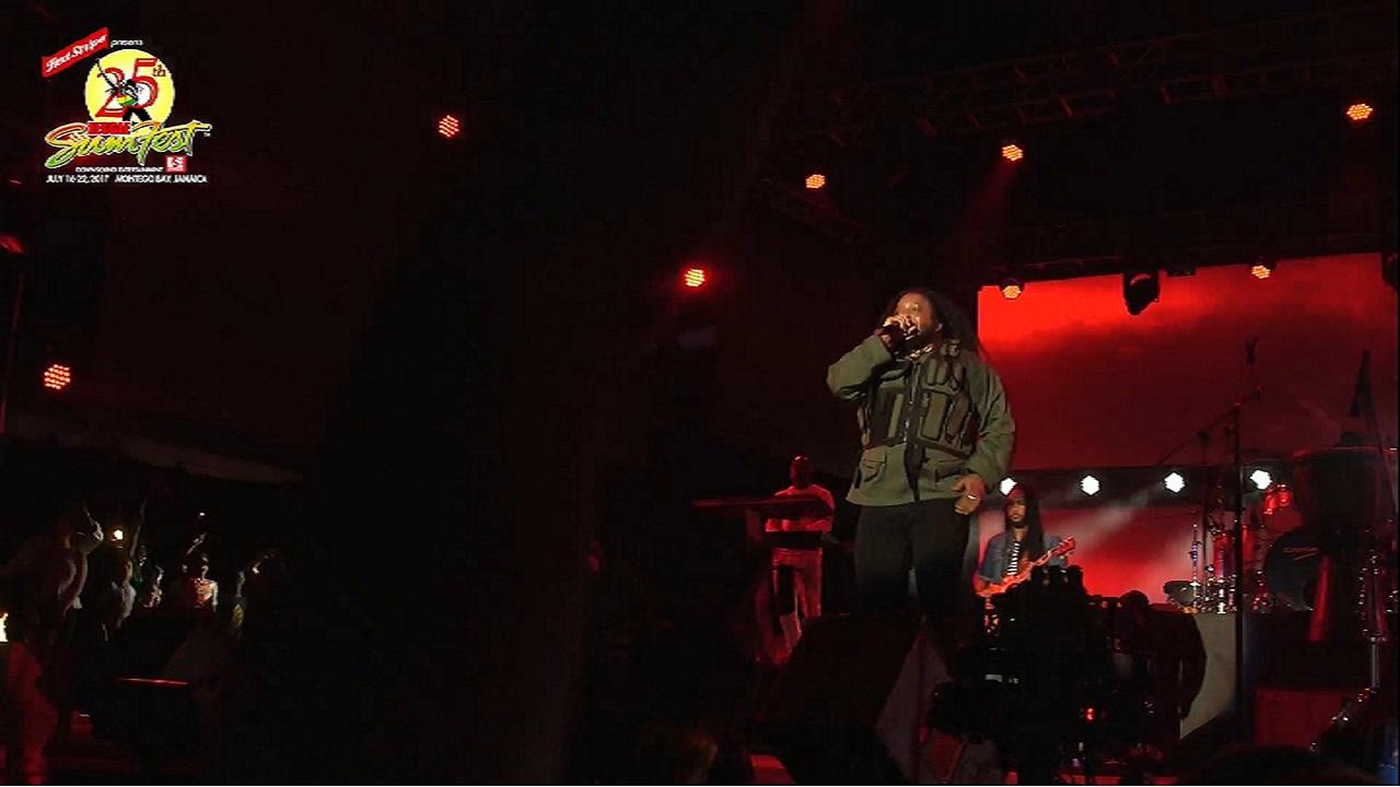 Reliving Reggae Sumfest Reggae Night Loop News - Reggae sumfest