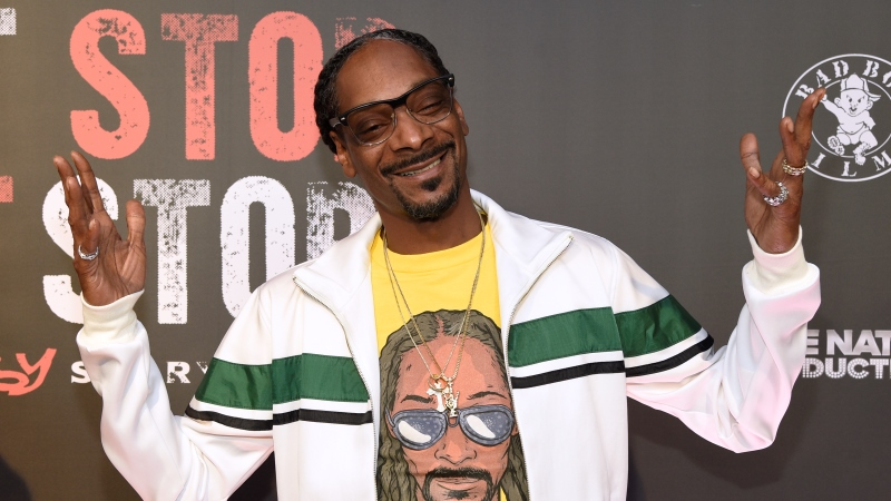 Rapper Snoop Dogg.