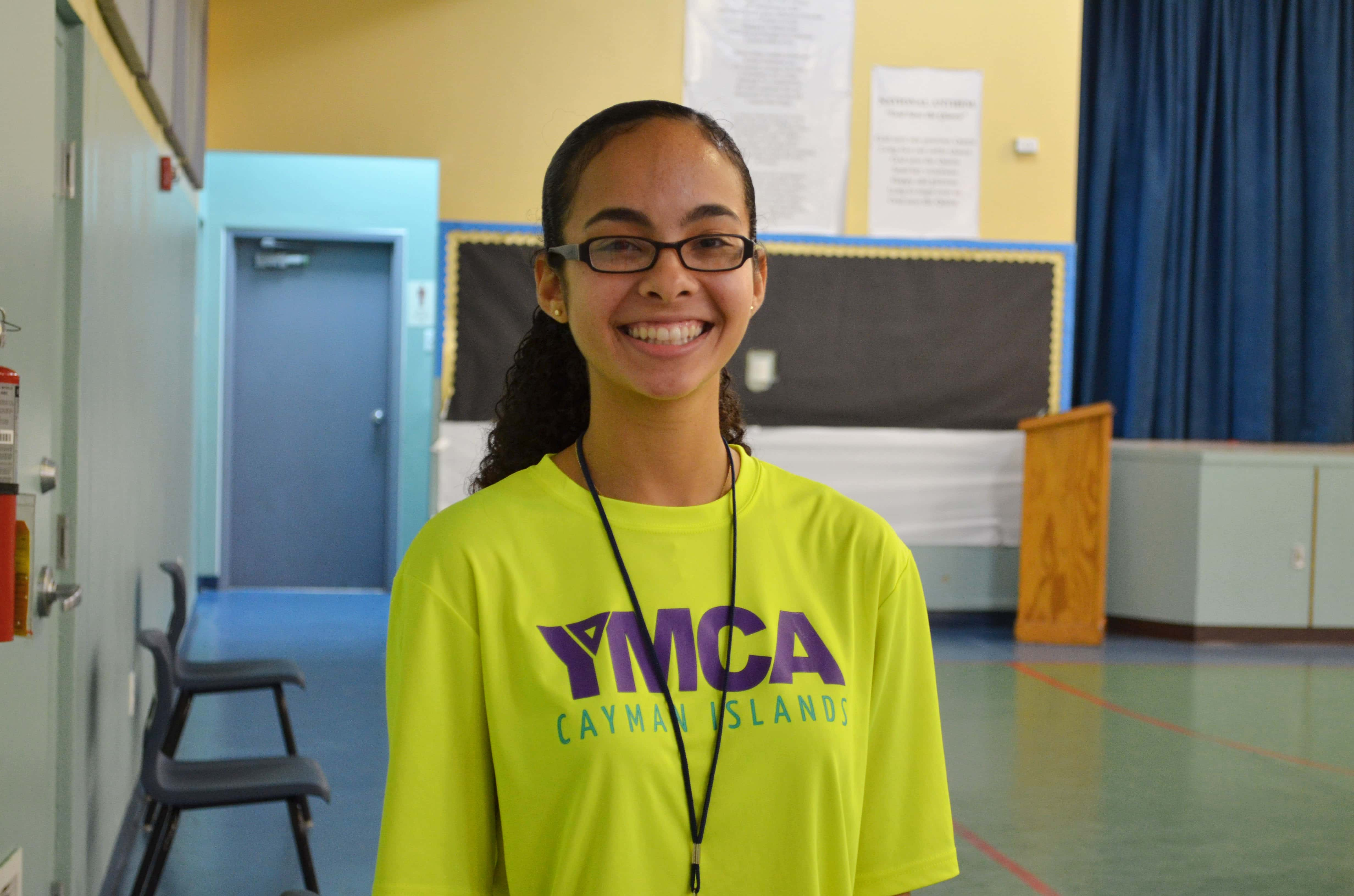 Katherine Jackson, Youth Development Coordinator at the YMCA Cayman Islands