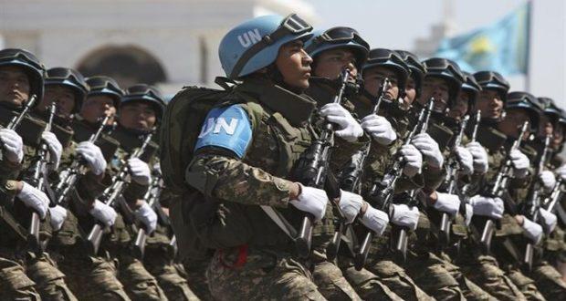 Soldats canadiens dans la mission de l'ONU en Haiti.