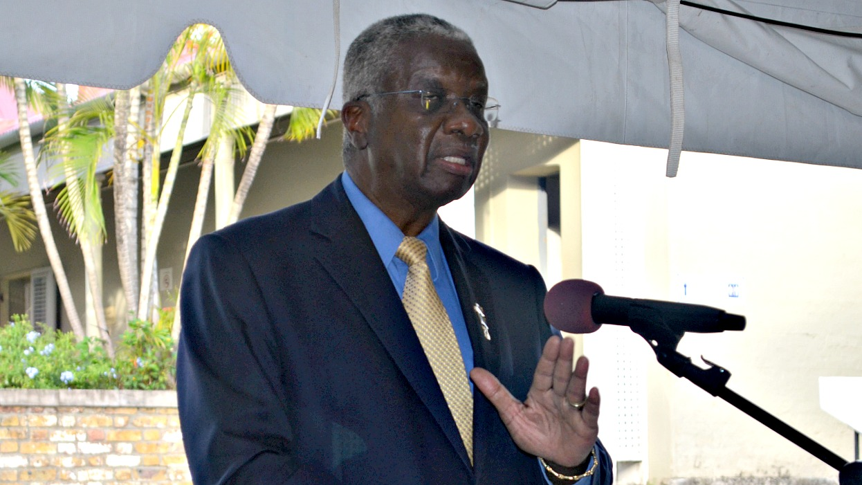 Prime Minister Freundel Stuart has addressed the buzz about his 'new ride'.