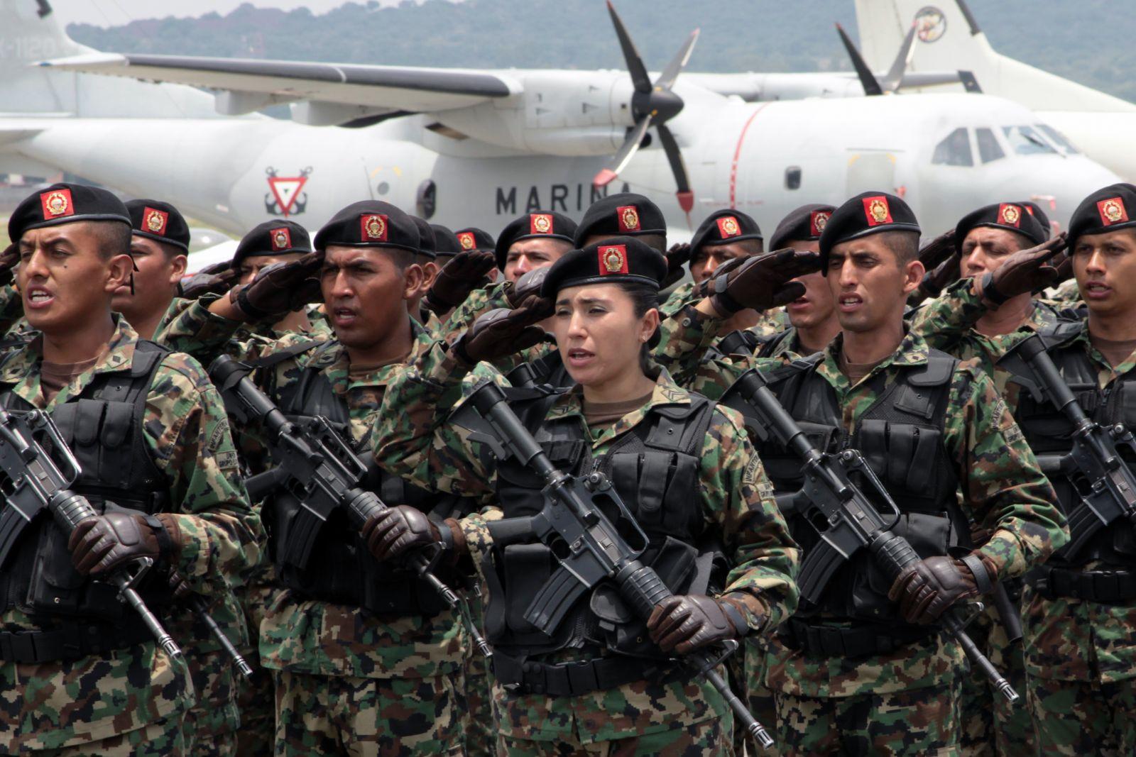 Troupes mexicaines déployées en Haïti (Minustah) Photo : M. García