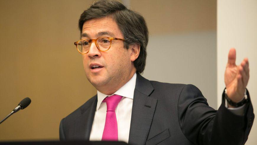 Luis Alberto Moreno, l'actuel Président de la Banque Interaméricaine de Développement./Photo: Nationwide 90FM