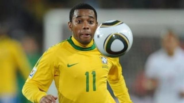 Robinho ./Photo : AFP