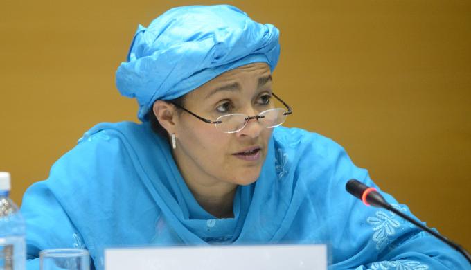 Le secrétaire général adjoint de l'ONU, Amina Mohammed