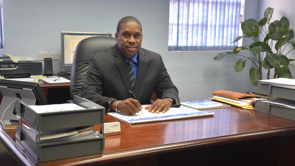 Louis Lewis, CEO of Tobago Tourism Agency