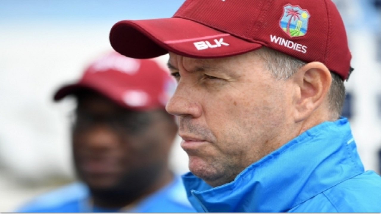 West Indies head coach Stuart Law.
