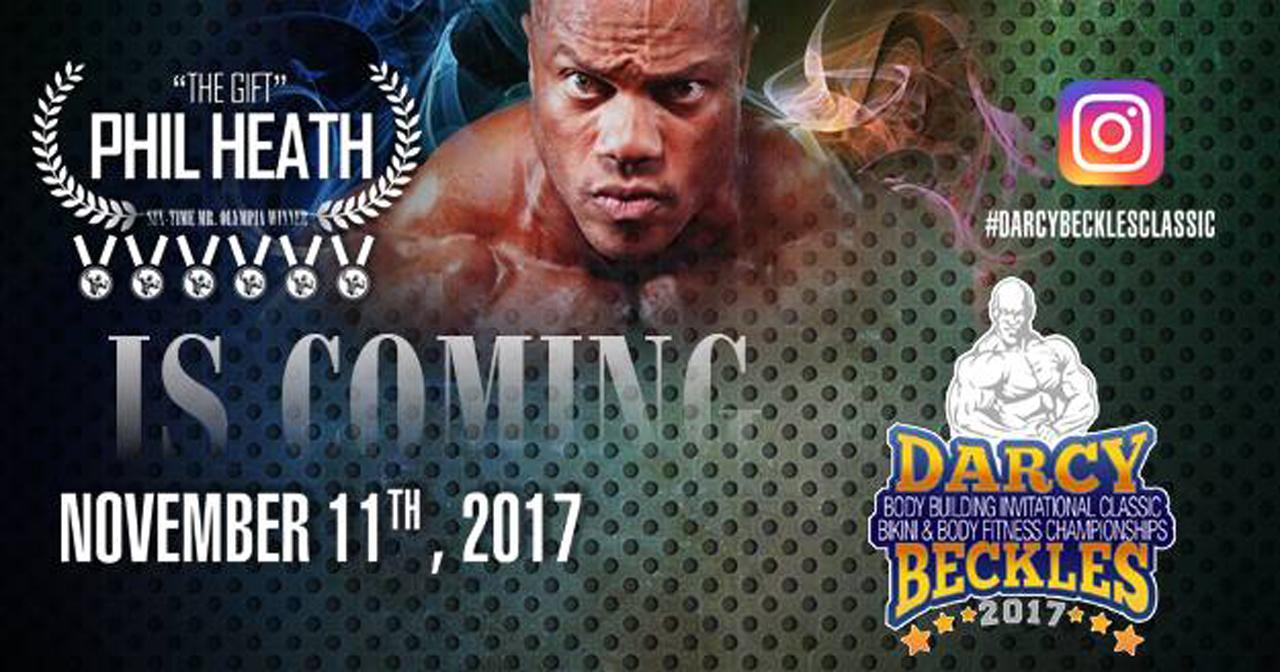 De Darcy Beckles Classic Invitational in Barbados is een prestigieuze Bodybuilding en Fitness competitie die jaarlijks wordt gehouden.