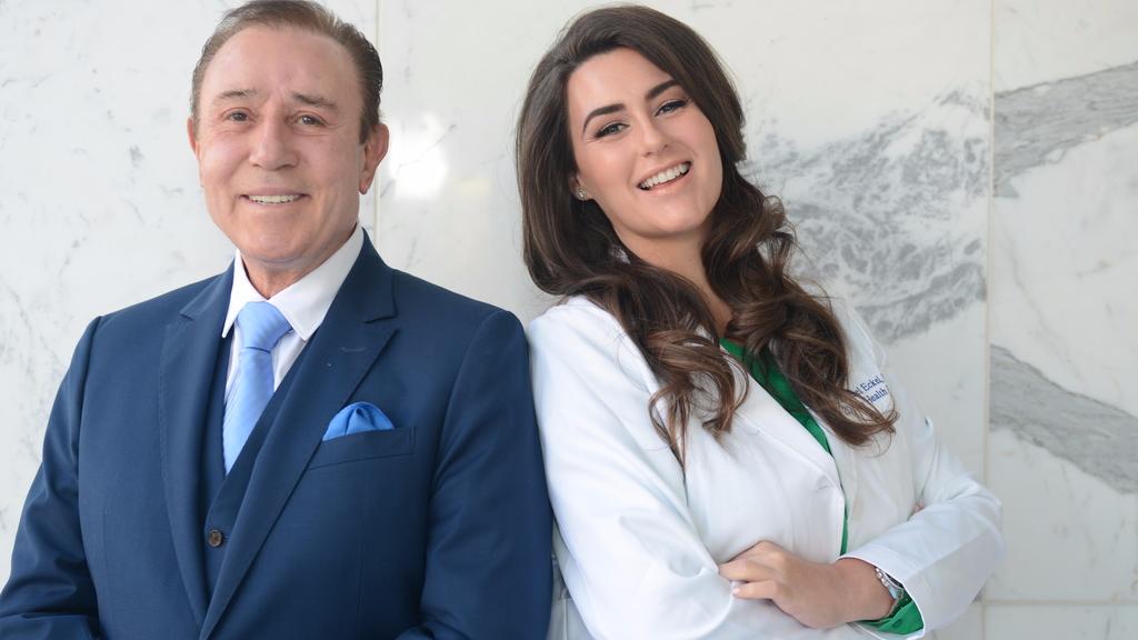 Rachel Eckel with Dr Zein Obagi