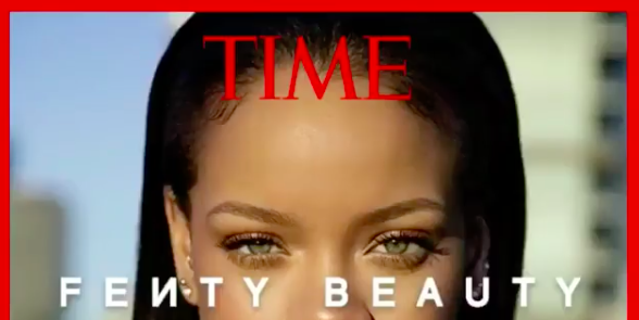 Fenty Beauty 40 shades highlighted on TIME's 25 Best Invetions of 2017 list.