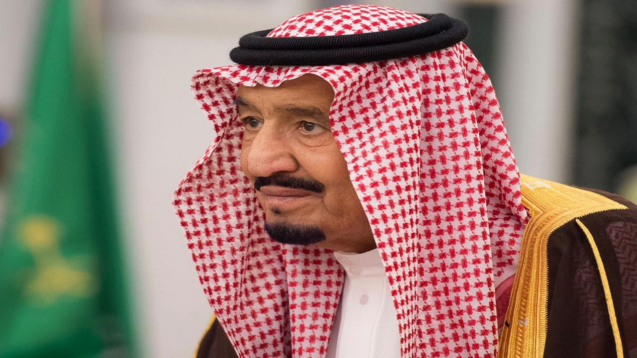 In this photo provided by the Saudi Press Agency, King Salman attends a swearing in ceremony in Riyadh, Saudi Arabia, Monday, Nov. 6, 2017. The king has sworn in new officials to take over from a powerful prince and former minister believed to be detained in a large-scale sweep that has shocked the country and upended longstanding traditions within the ruling family.