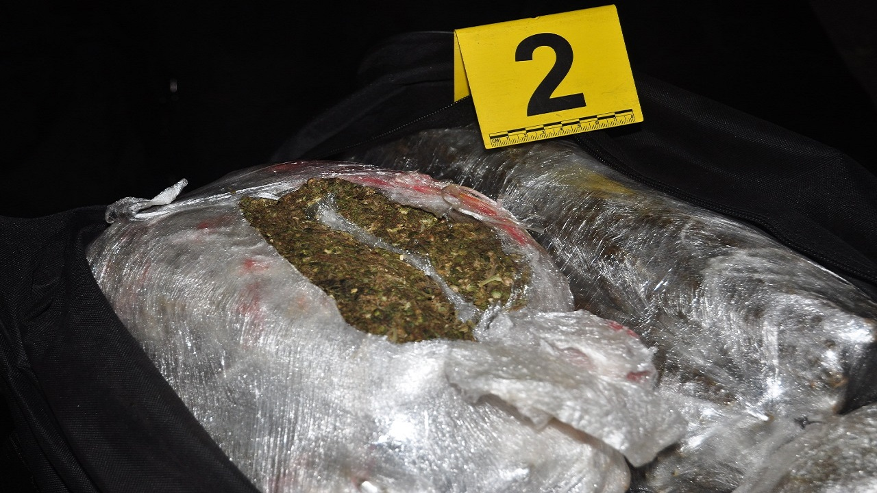 The Jamaicans were allegedly held with 438 pounds of ganja in the Cayman Islands.