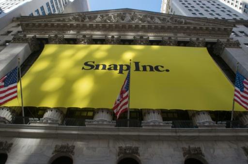 AFP/Archives / Bryan R. Smith  Snapchat compte 178 millions d'utilisateurs quotidiens