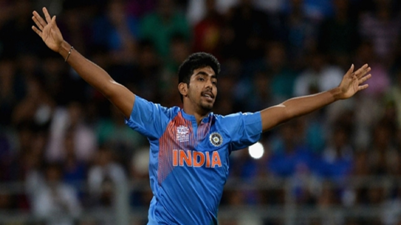 India bowler Jasprit Bumrah.