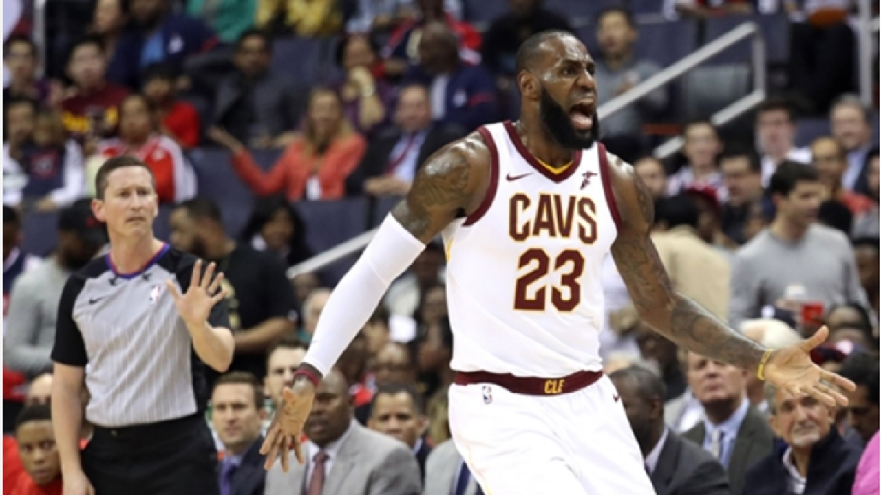 LeBron James ejected for the first time in National Basketball Association career