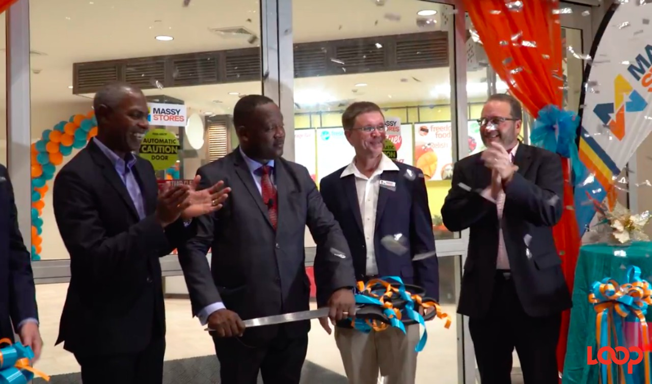 There was much fanfare at the re-opening ceremony for Massy Stores Supermarkets Sunset Crest in Holetown, Barbados.