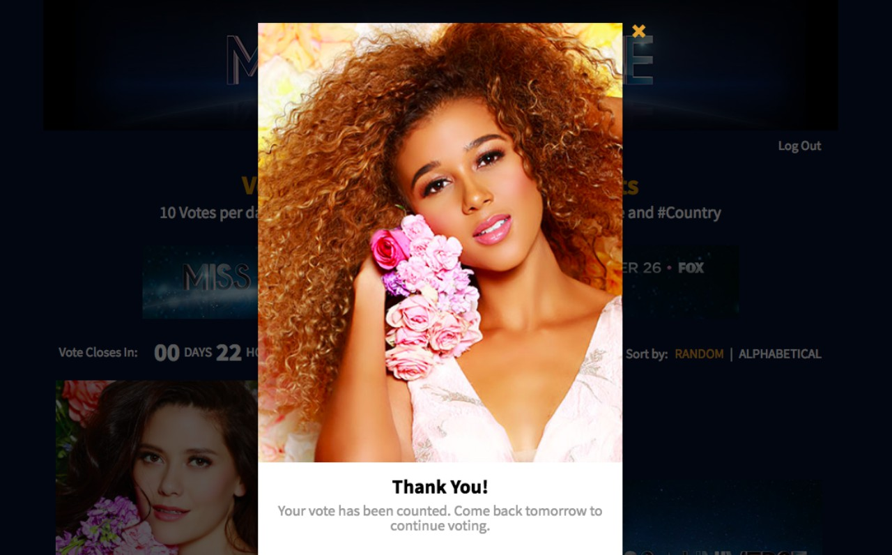 Miss Universe Barbados 2017 Lesley Chapman-Andrews