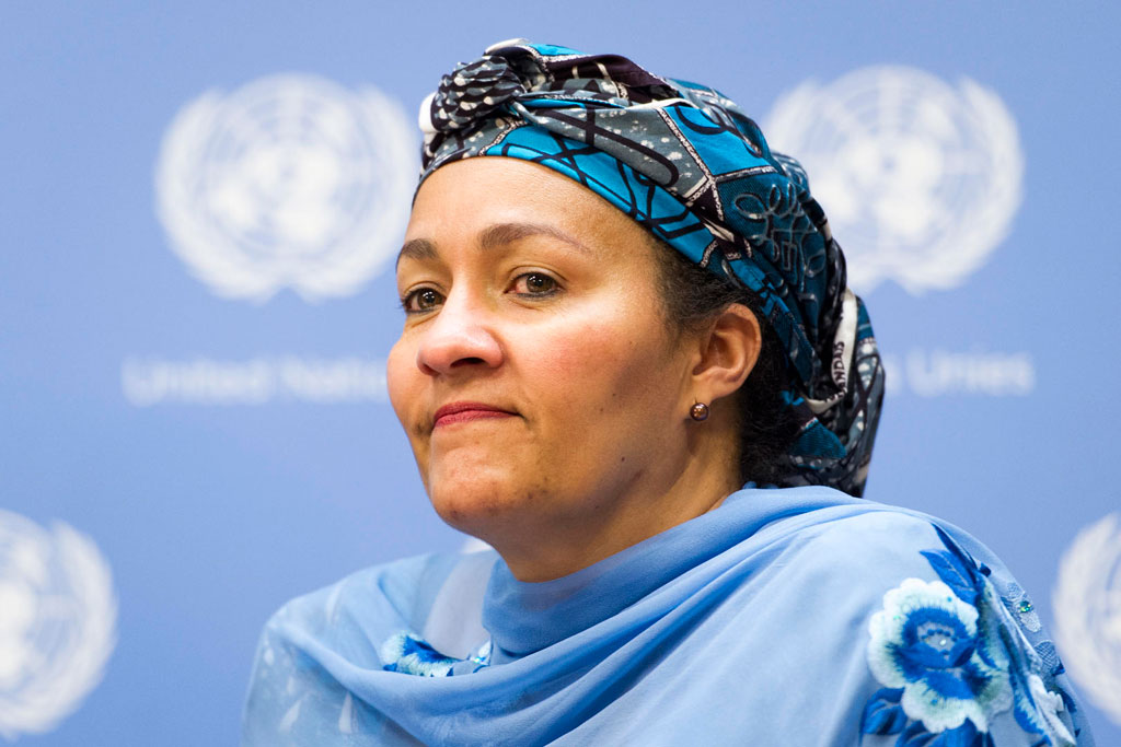 Amina J. Mohammed. Photo ONU / Mark Garden