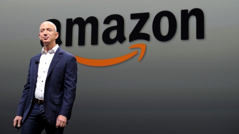Jeff Bezos, patron d'Amazon