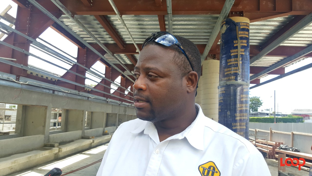Director of the Barbados Transport Authority, Alex Linton