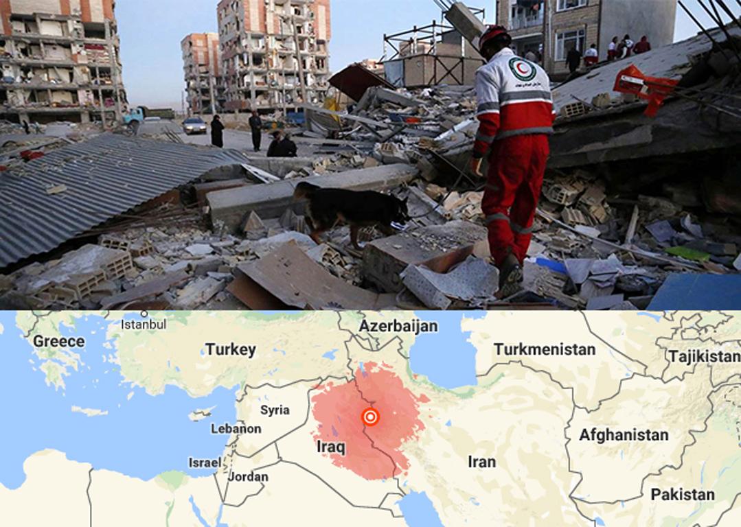 Het dodental zal waarschijnlijk nog verder oplopen. Sinds de zon weer op is en de reddingsoperatie op gang komt, worden er veel lichamen onder het puin gevonden. Het epicentrum van de beving was in Iraaks Koerdistan, zo'n 30 kilometer van de stad Halabja.